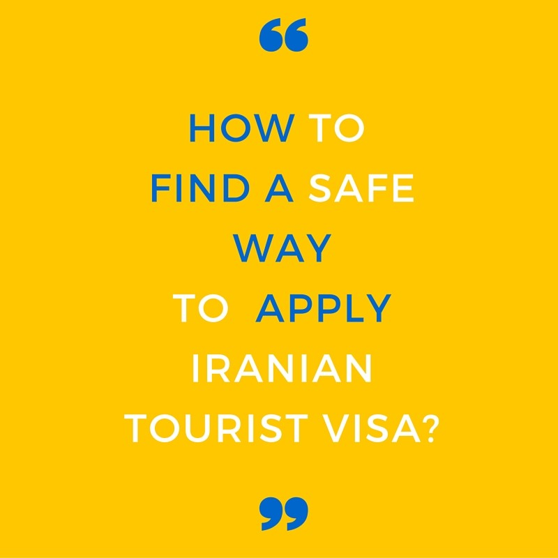 Iran Tourist Visa Application | Iranian Tourist Visa on
