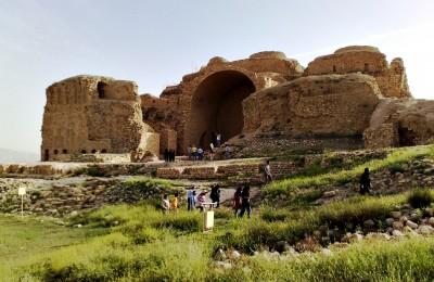 Firozabad-babakan-castle-iran-travel