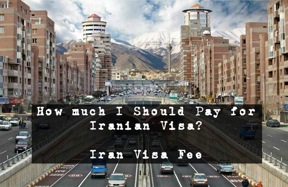 iran visa fee
