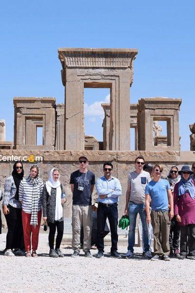 iran_traveling_center_agency.Persepolis. travelers in iran