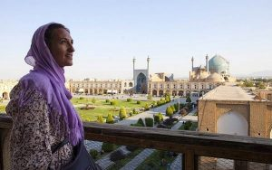 iran female tourist