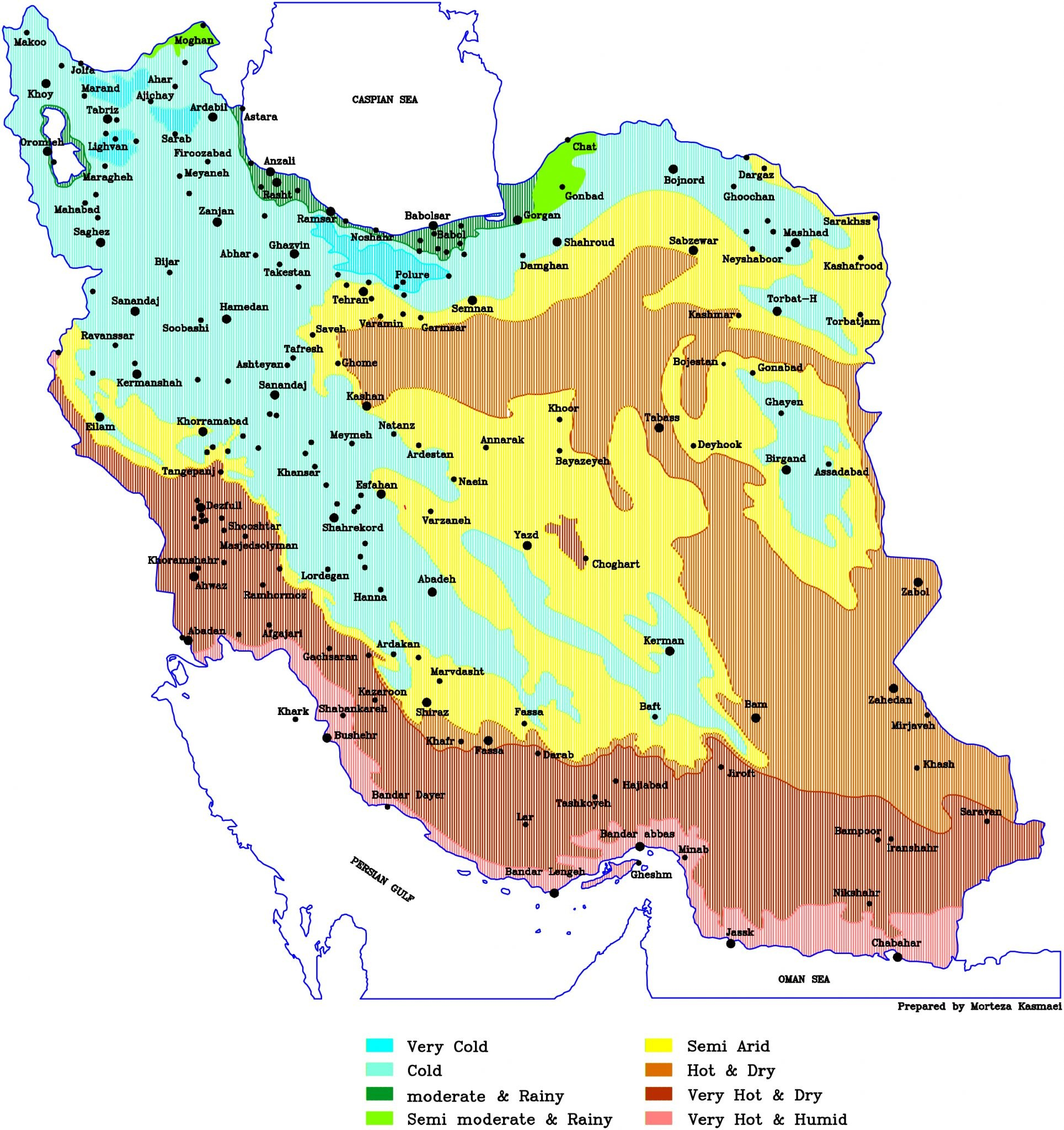 Climate of Iran