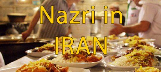 Nazr in Iran