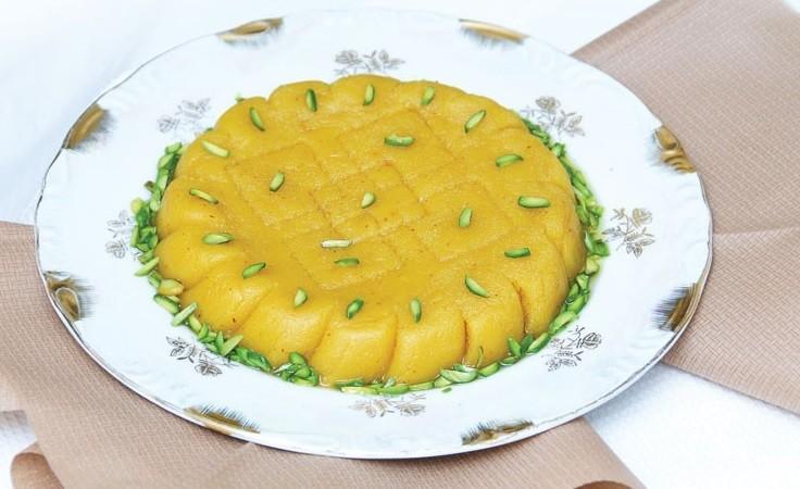 Iranian dessert, Halva zard