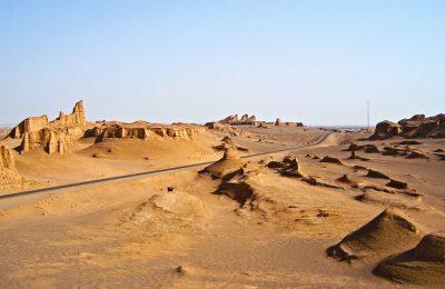 Kalouts Desierto Irán