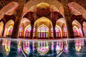 Shiraz Mezquita Nasir al Mulk