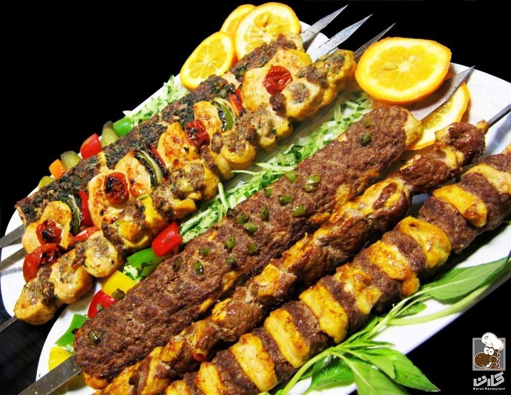 عکس غذا جوجه کباب