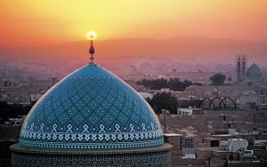 Jame-mosque-of-Yazd-Iran-wallpaper