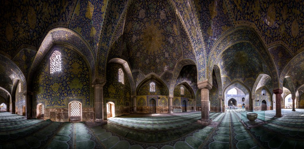 Shah(Emam ) mosque - panorama