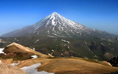 Damavand Alborz Mountain