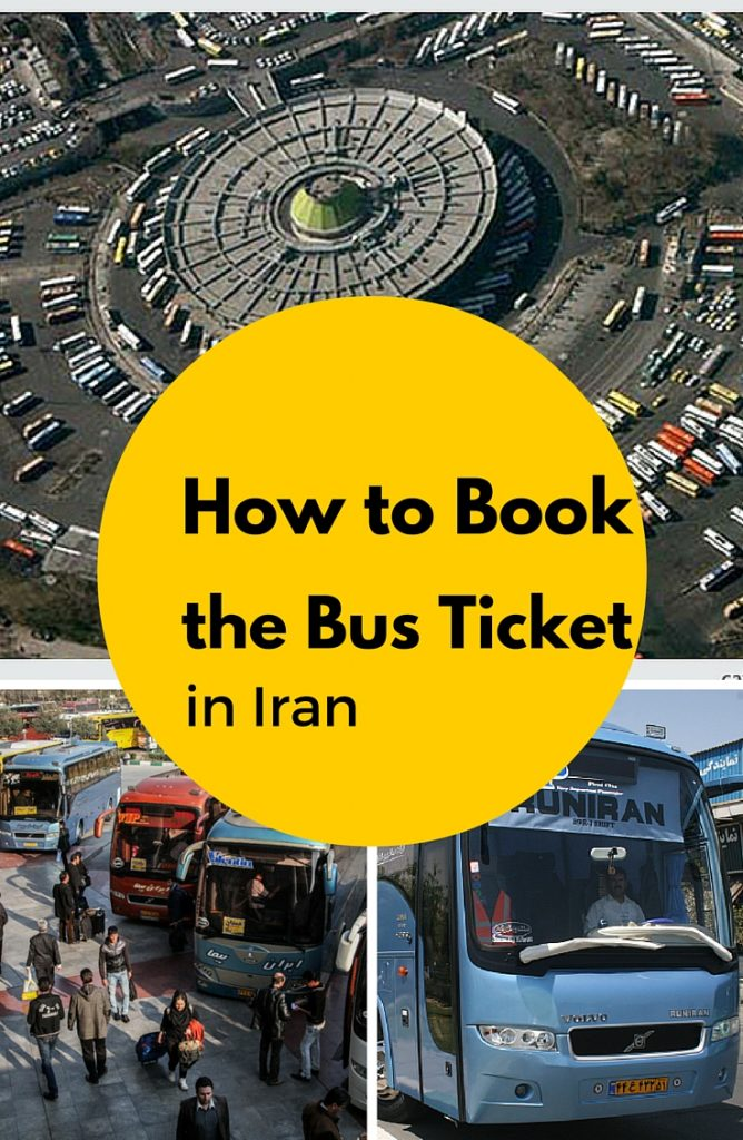 bus ticket in Iran