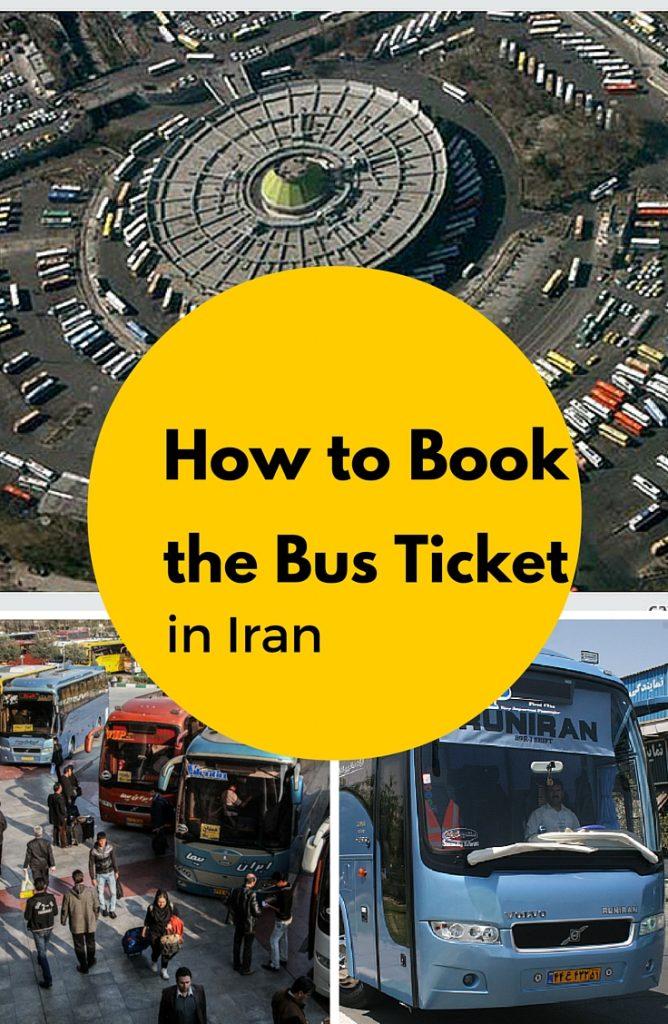 bus ticket in Iran