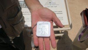 Temperature in Iran