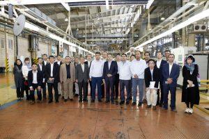 日本の投資資金イラン工場