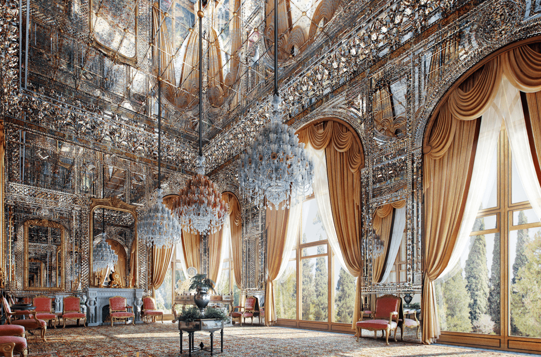 Golestan Palace in Tehran - Iran Traveling Center