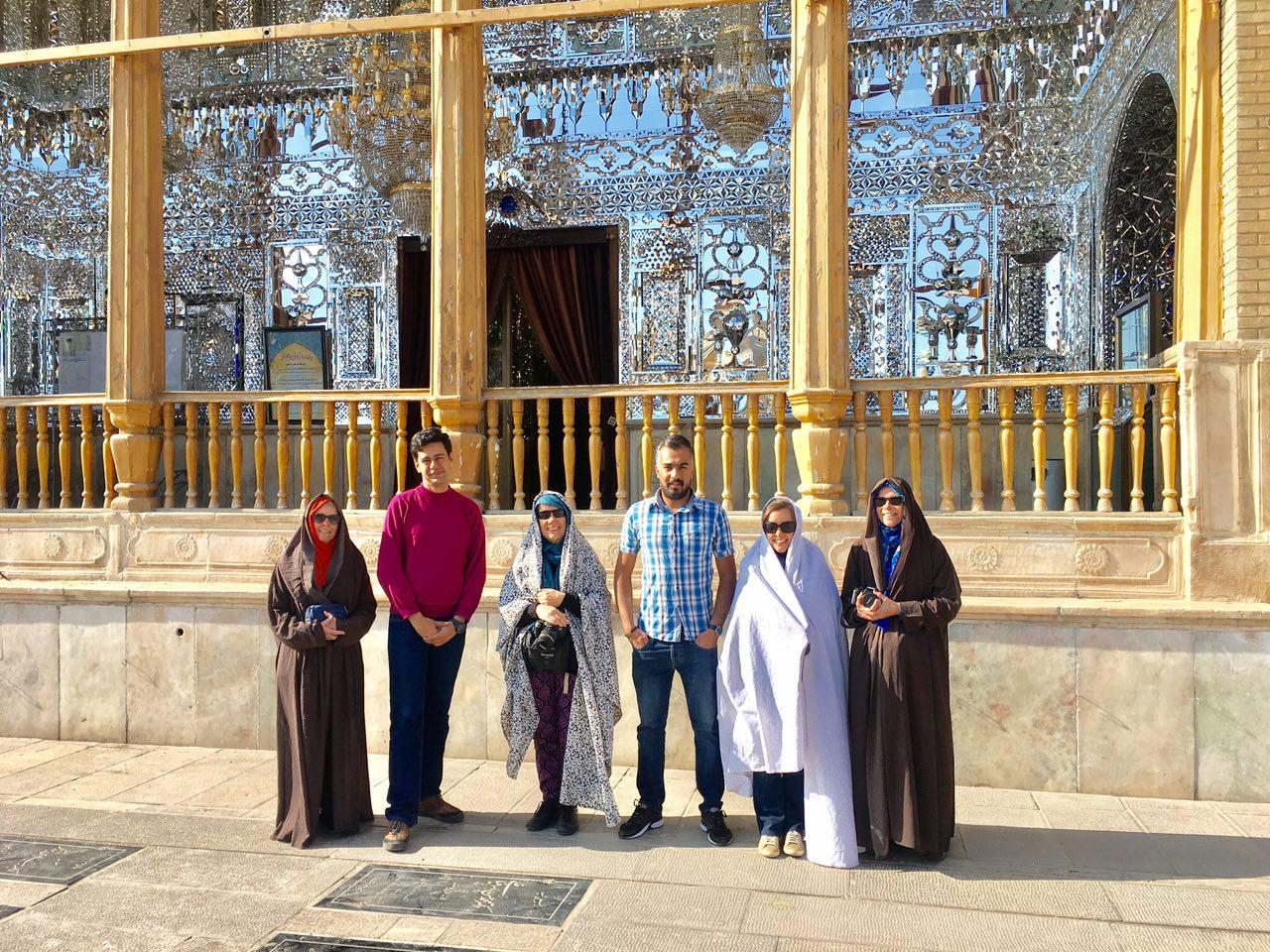 Shah-e-cheragh Holy Shrine In Shiraz