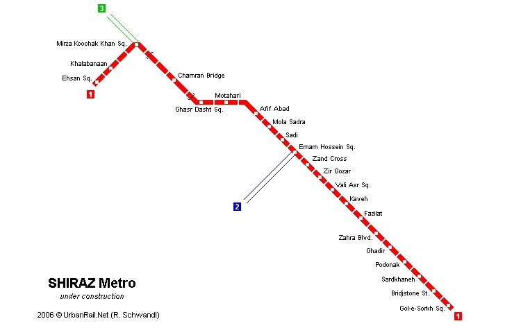 Shiraz-Metro-subway-map