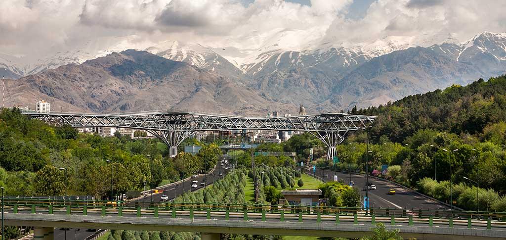 Tabiat Bridge In Tehran Iran Traveling Center