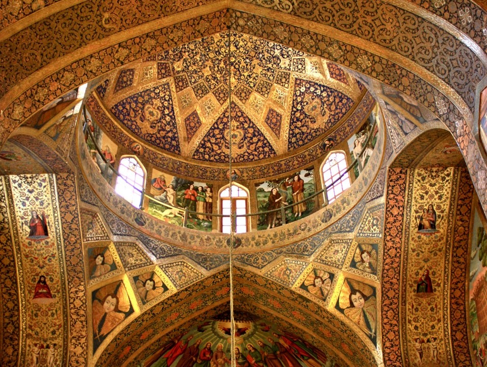 Vank Cathedral in Isfa...