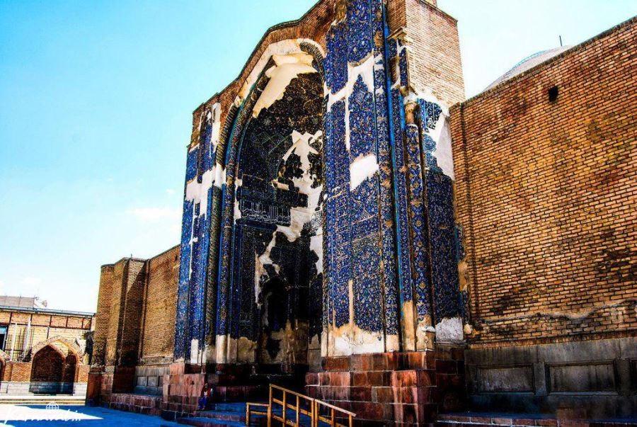 Blue-Mosque-Tabriz- Iran-Traveling-Center