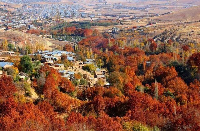 Iran Autumn - Ghalat_village