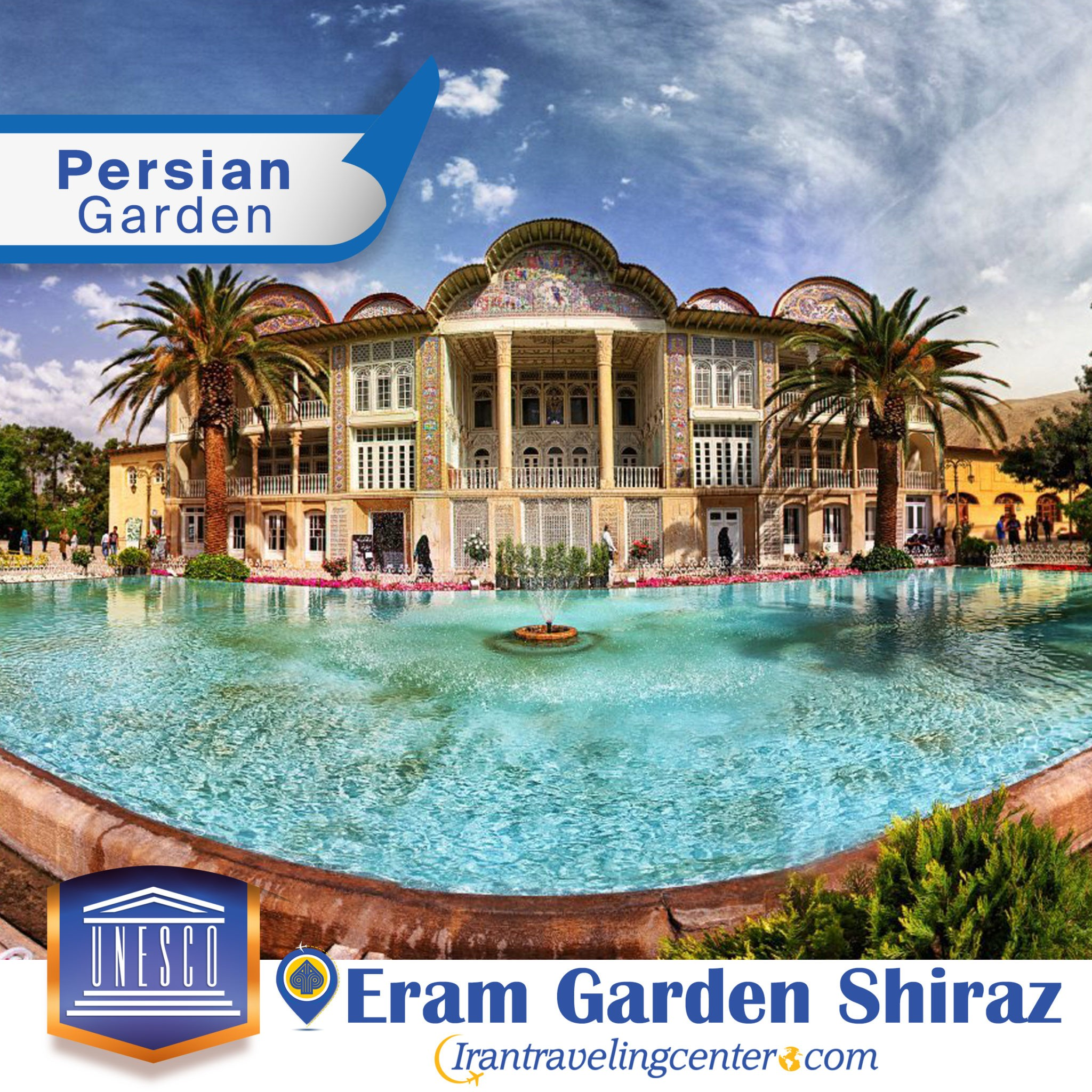 Eram Garden-Persian garden